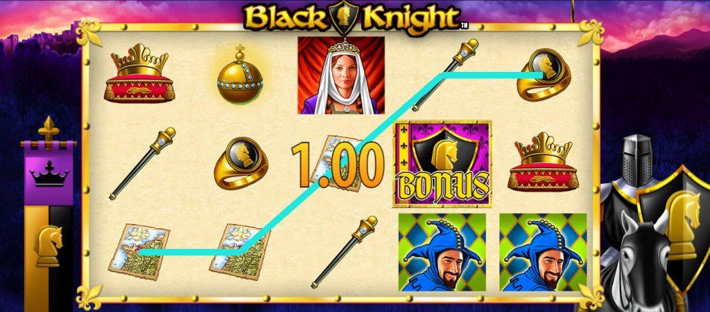 Black Knight slot win
