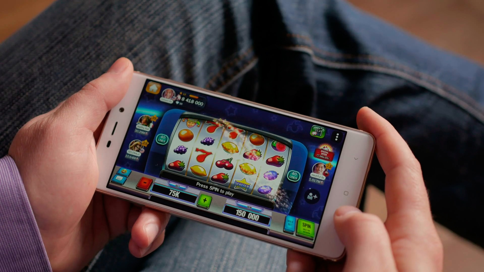 Playing Slot Machines On Tablets And Smartphones