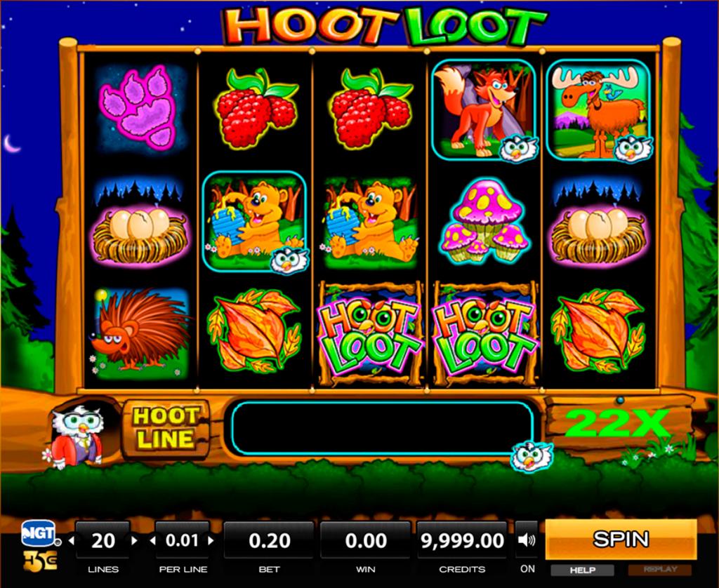 Hoot Loot free